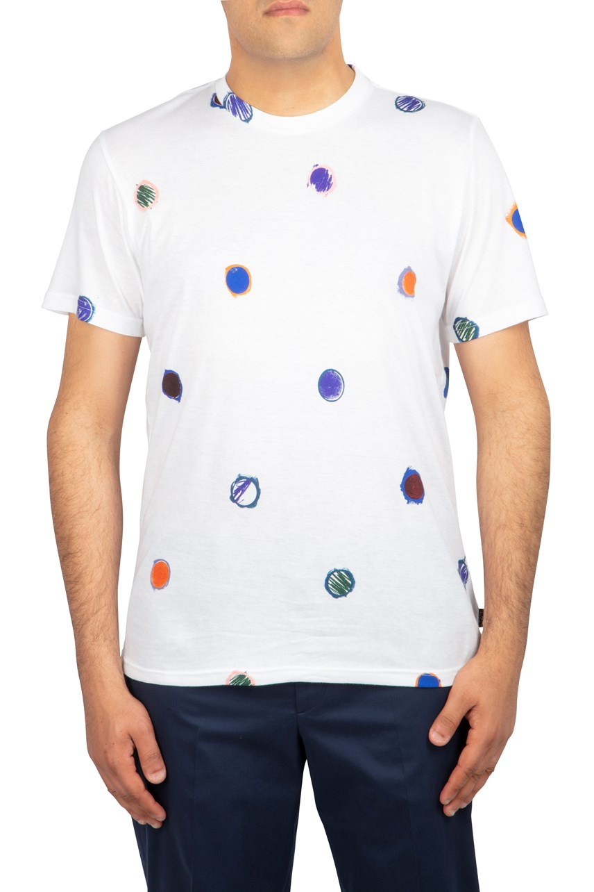 Scribble Spot Regular Fit T-Shirt