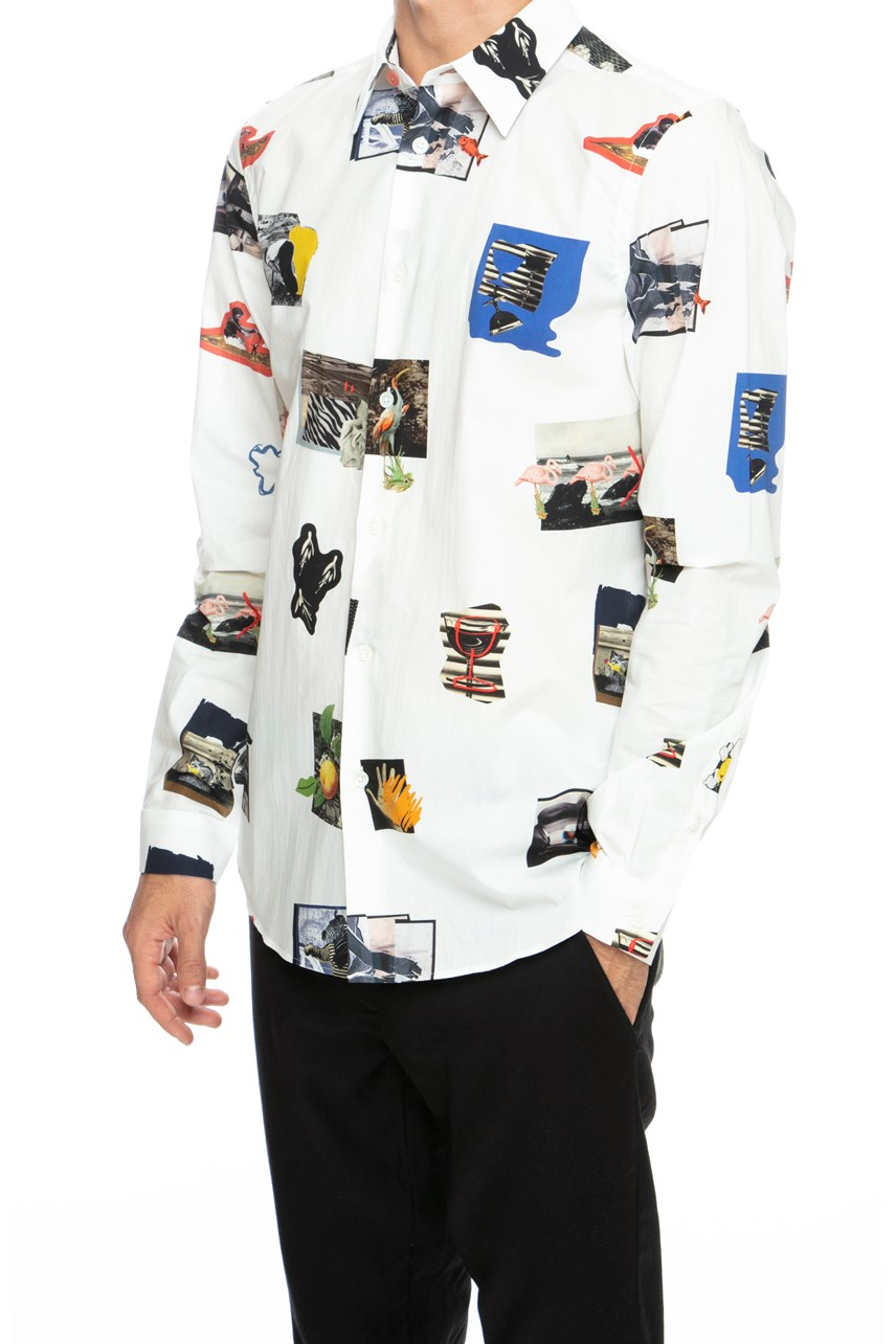 Photographic Tailored Shirt