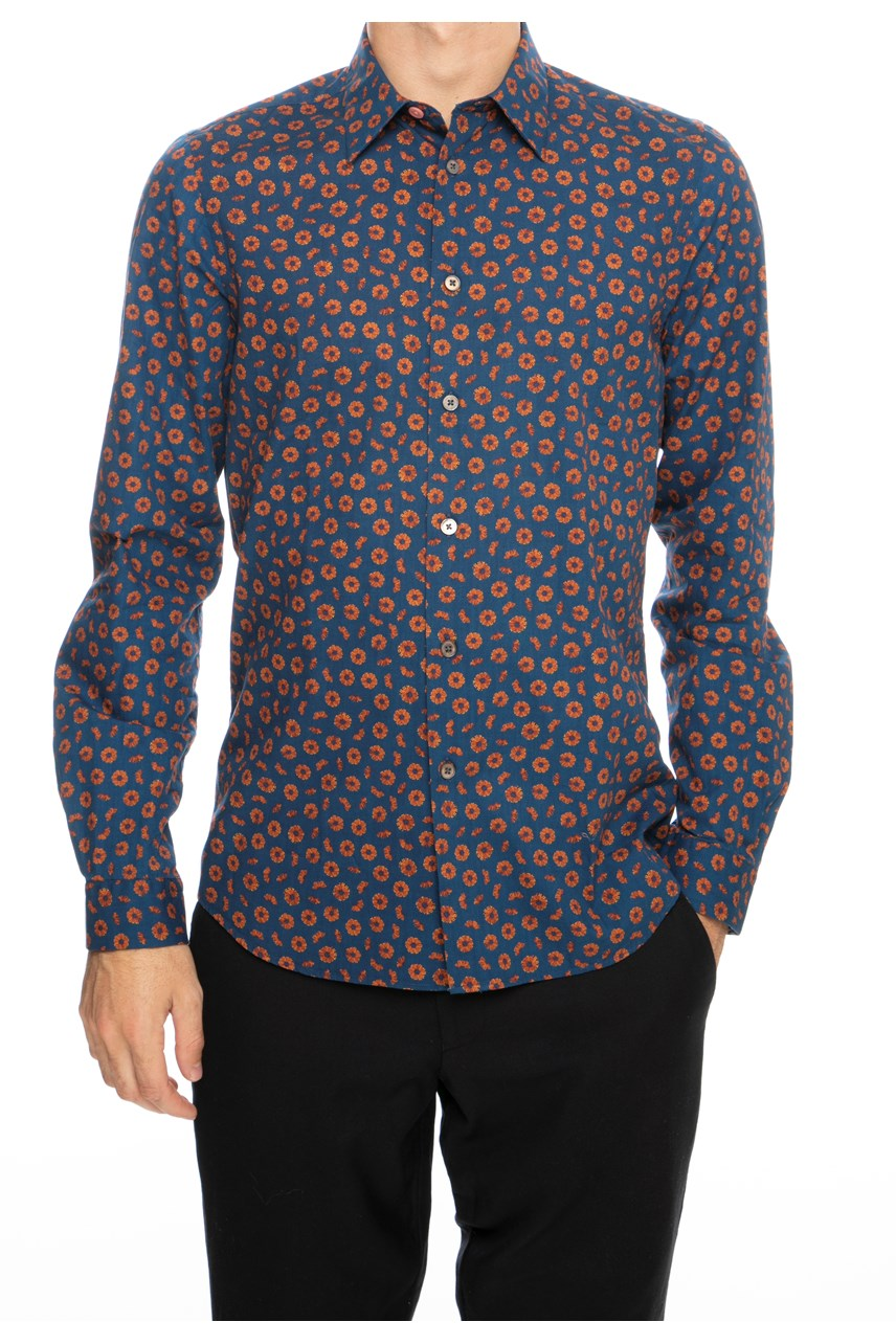 Small Floral Tailored Shirt