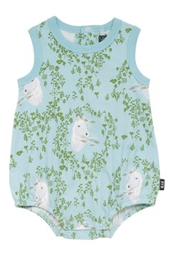 Wild Pony Singlet Bodysuit DUSTY GREEN 1