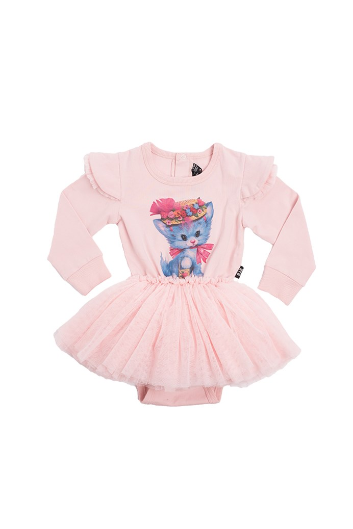 Pretty Kitty Long Sleeve Circus Dress