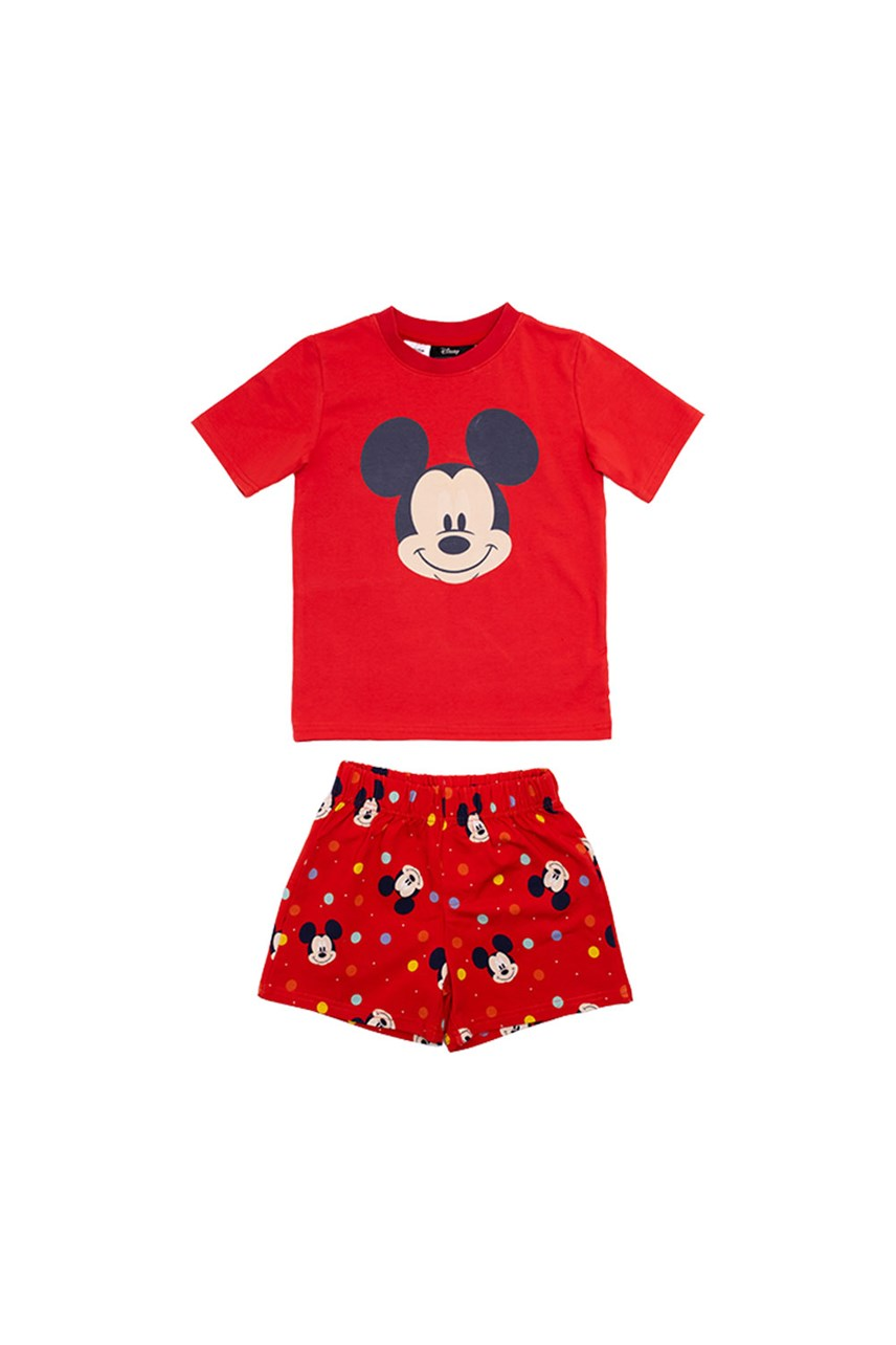 Spot Mickey Short Sleeve PJ Set
