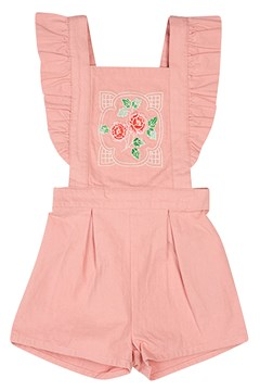 Pink Rose Romper DUSTY PINK 1