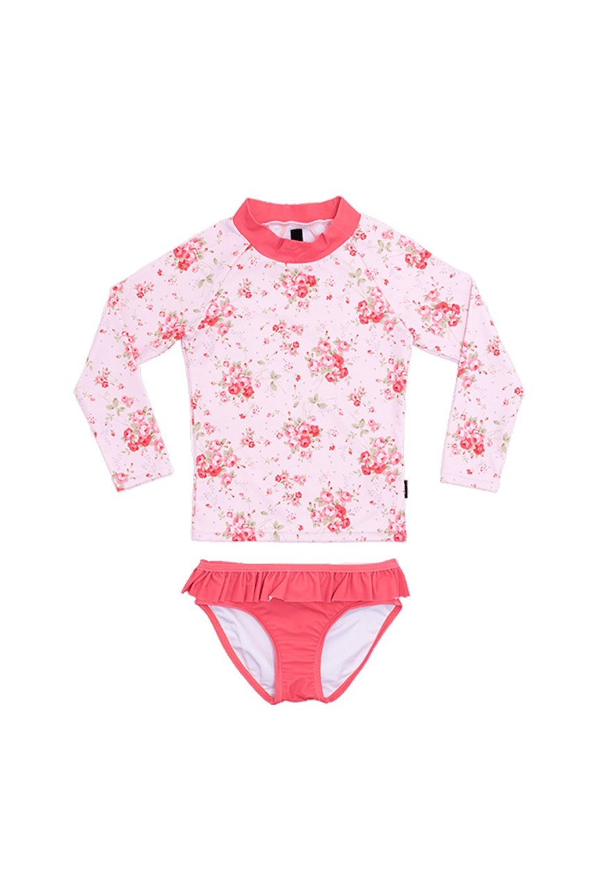 Summer Rose Long Sleeve Rashie Set