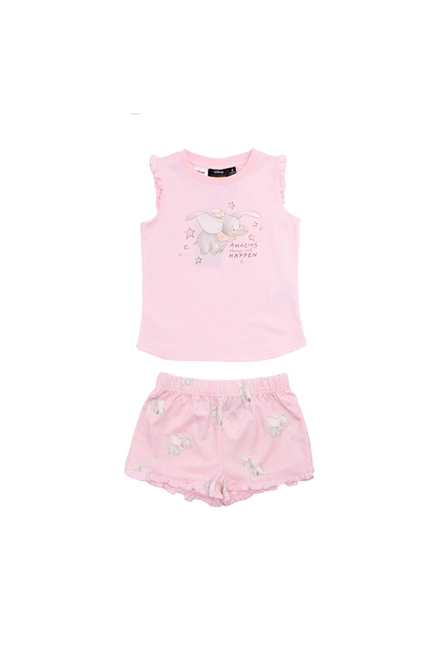 Dumbo Night Shortie PJ Set
