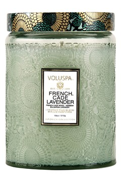 French Cade Lavender Large Jar Candle 1