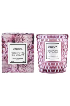 Rose Petal Ice Cream Classic Candle -