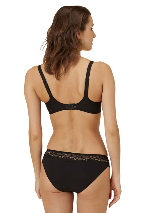 Caresse Control Full Cup Bra - black