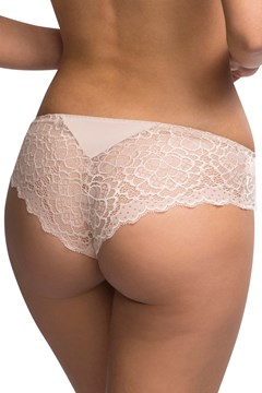 Caresse Shorty Brief - peau rose