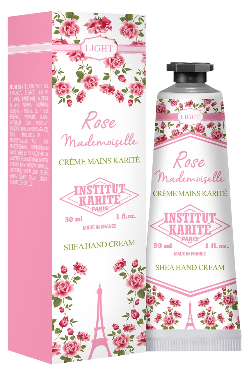 Rose Mademoiselle Light Shea Hand Cream - 30ml