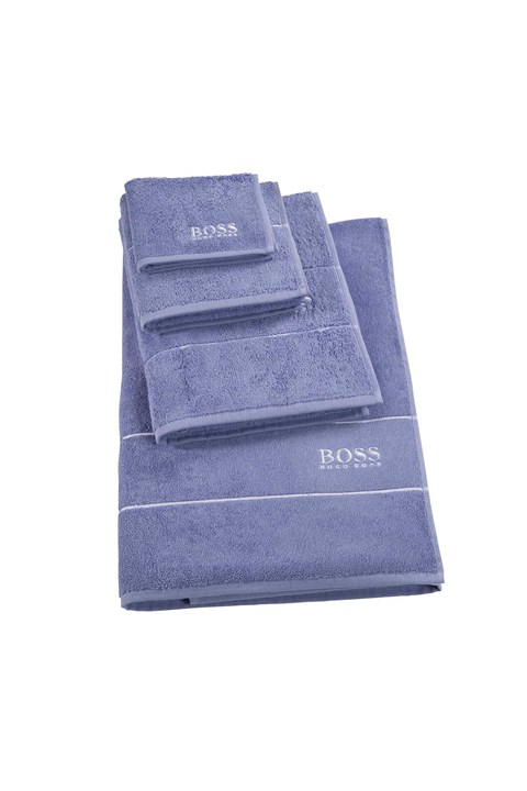 Plain Bath Mat - denim