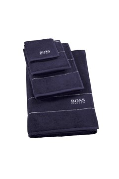 Plain Bath Mat - navy