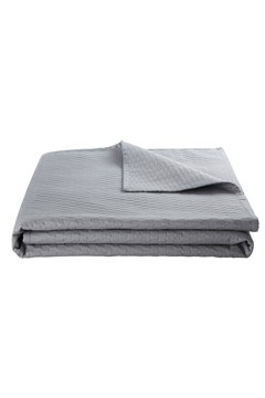 'Loft' Bed Spread Silver 1