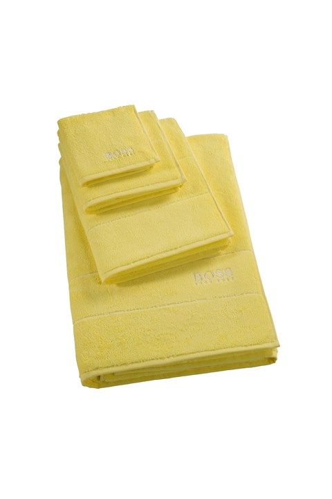 Plain Bath Sheet - lemon