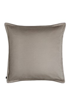 'Epsilon' European Pillowcase Taupe 1