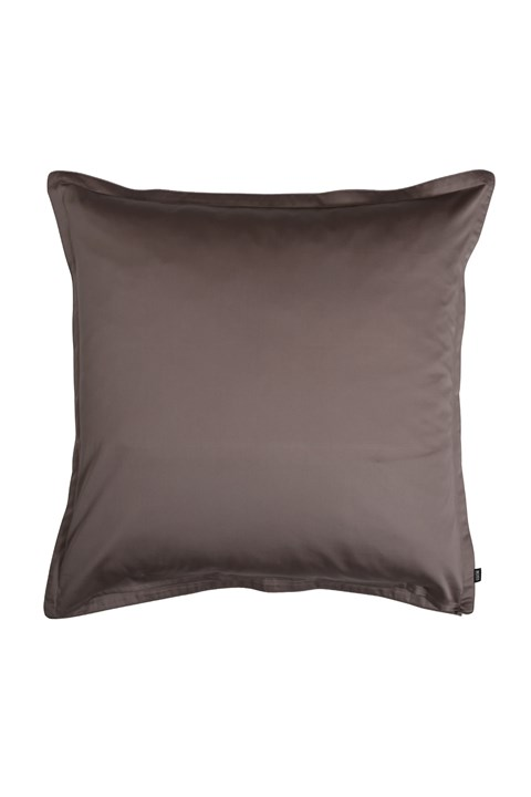 'Epsilon' European Pillowcase - taupe