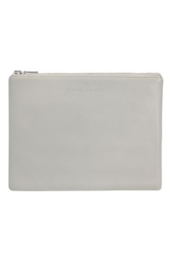 'Anti-Heroine' Clutch Wallet LIGHT GREY 1