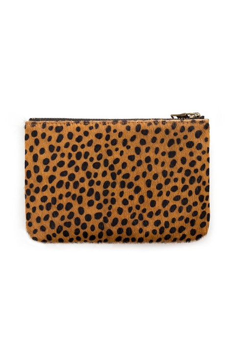 'Maud' Wallet - cheetah