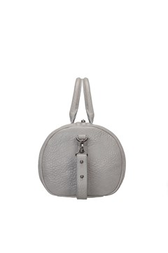 Kingdoms and Oaths Cement Leather Bag - cement