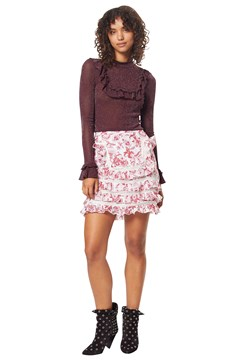 British India Mini Skirt ROUGE BRIT 1