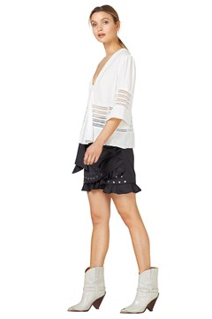Wren Mini Skirt - black