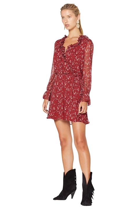 Sweet Caroline Mini Dress - sc print