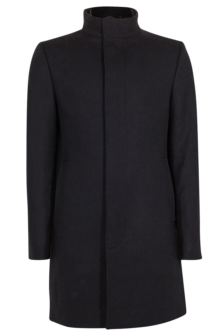 Margate Funnel Neck Coat with Removable Inner
