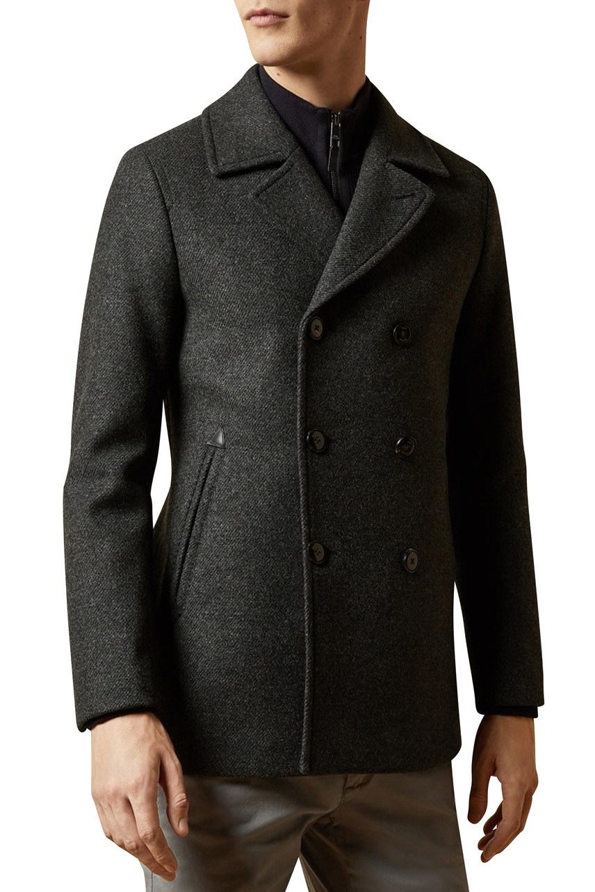 Westun Double Breasted Wool Peacoat