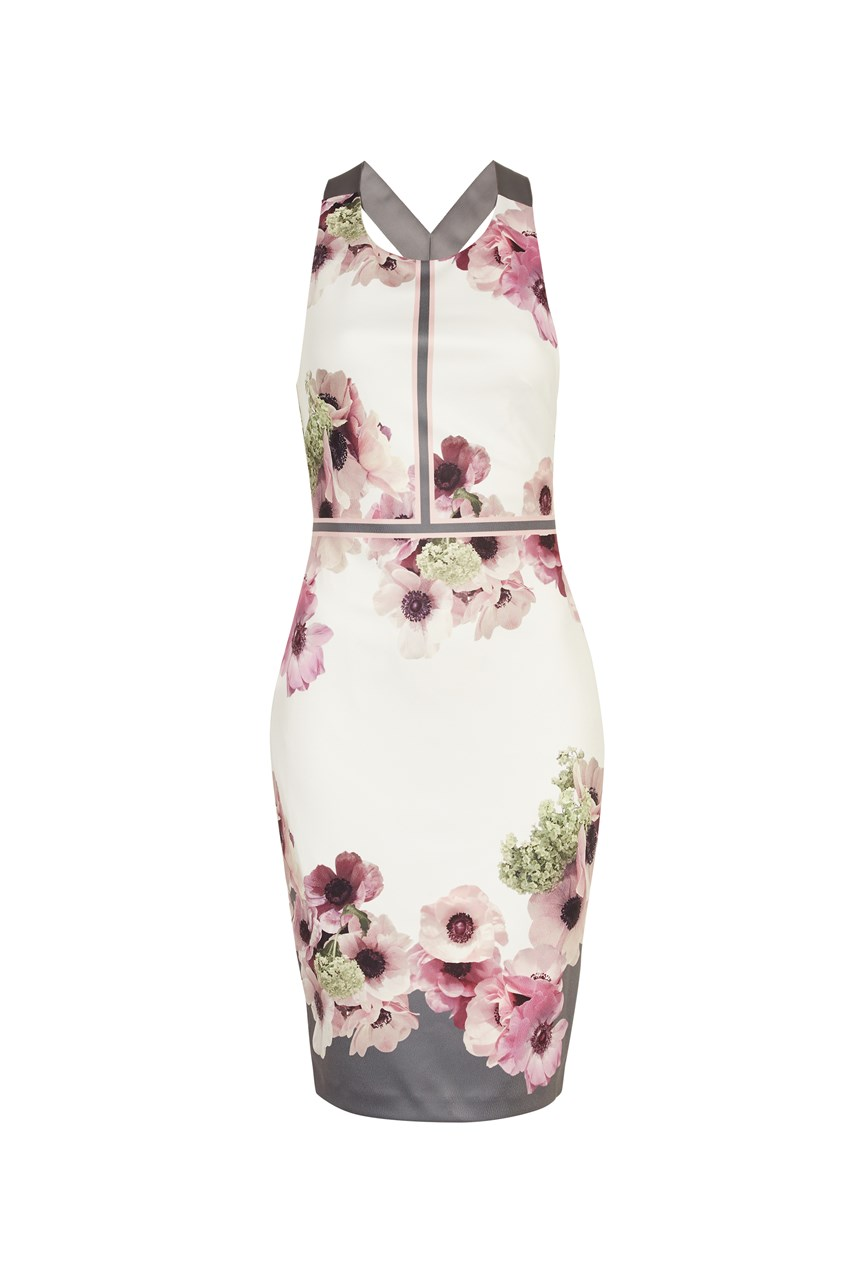Nanina Floral Panelled Dress
