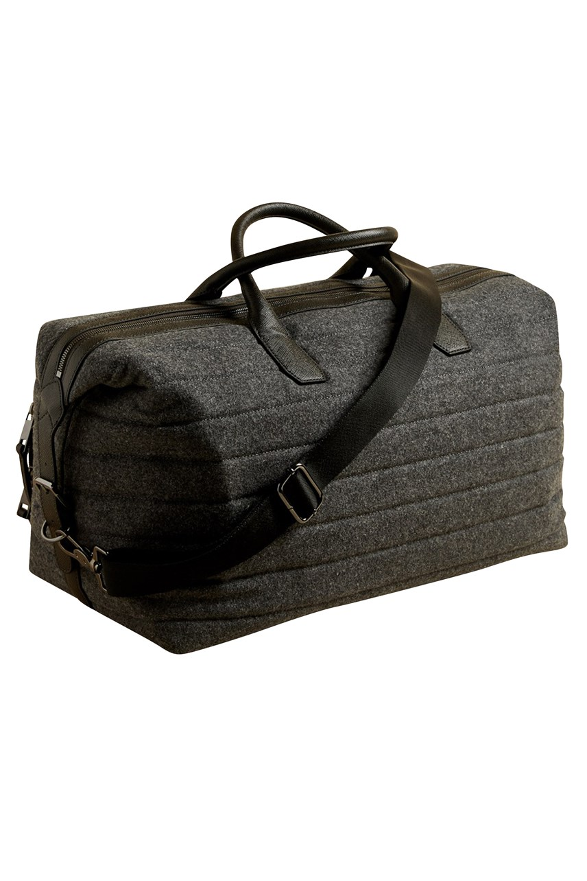 Ruffle Textured Holdall