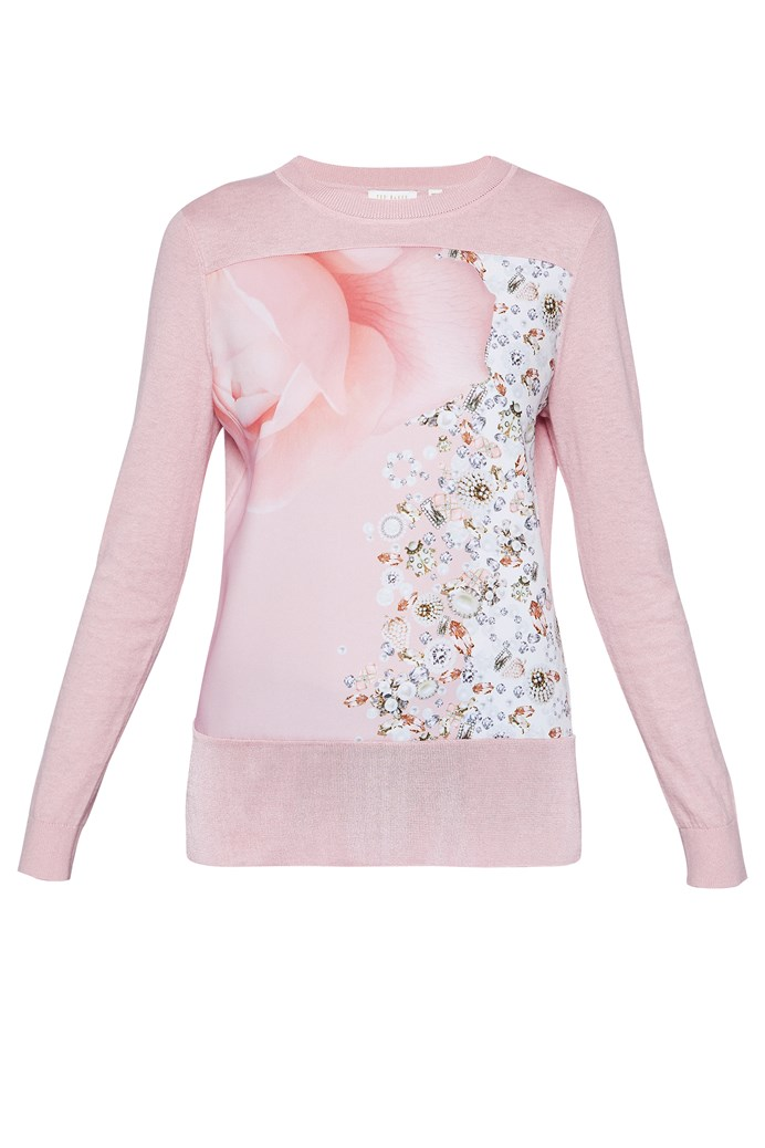 df3f72f4c277 Blenheim Jewel Woven Jumper - TED BAKER - Smith   Caughey s - Smith ...