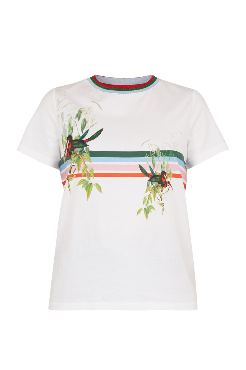 Kathlin Tropical Bird T-Shirt