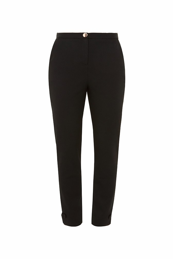 Nadaet Bow Detail Textured Trouser