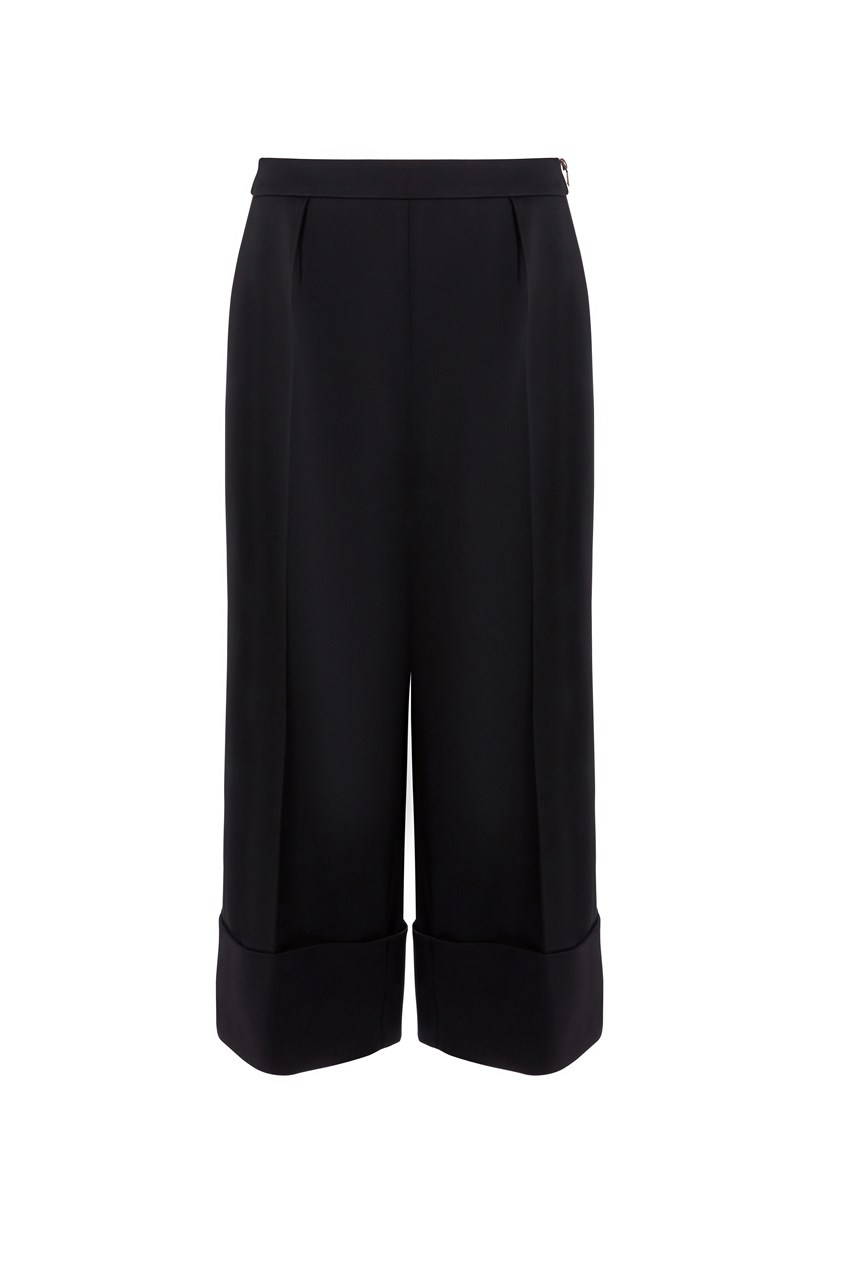 Ppollyt Structured Wide Leg Culottes