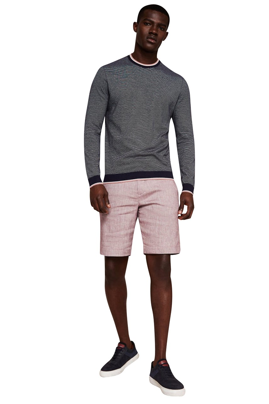 Linen Oxford Weave Short