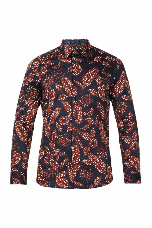 202dd71f4 Highbur Large Printed Shirt - TED BAKER - Smith   Caughey s - Smith ...