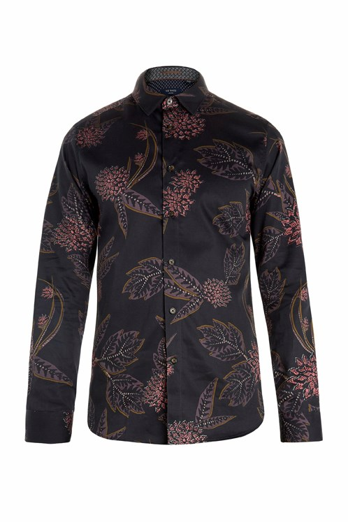 Notting Floral Printed Shirt