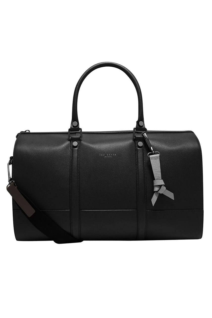 Coloured Leather Holdall