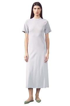 Casual T-Shirt Dress SILVER 1