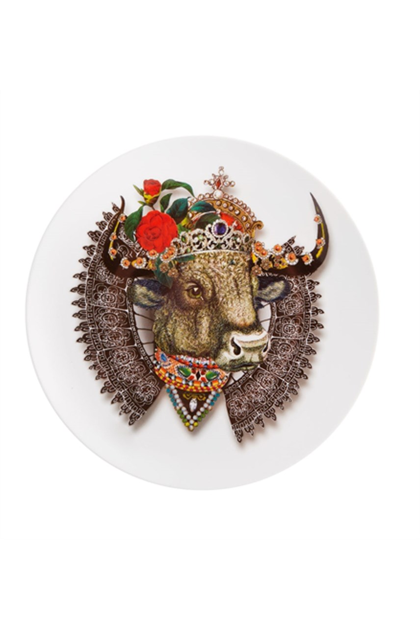 Love Who You Want Dessert Plate - Monseigneur Bull