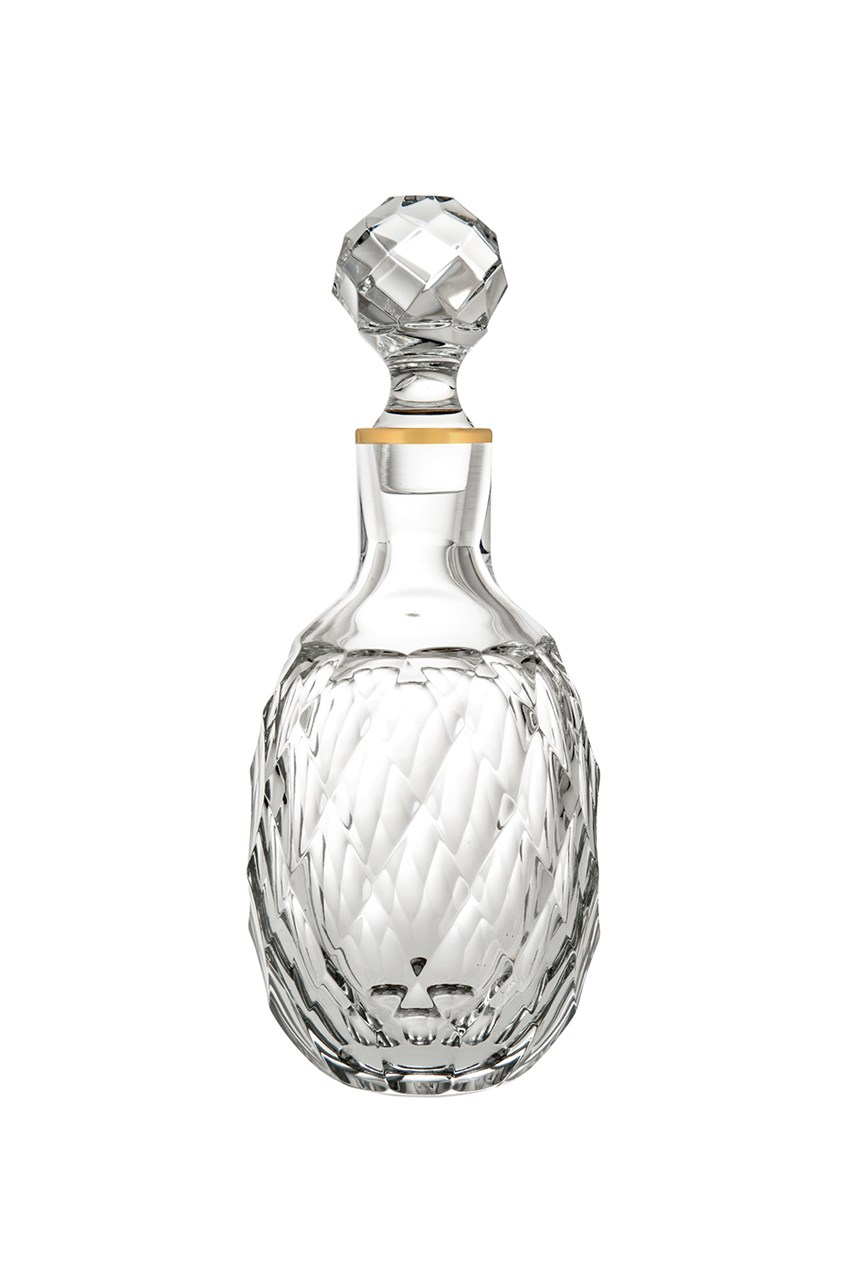 Palazzo Gold Whisky Decanter - 860mL