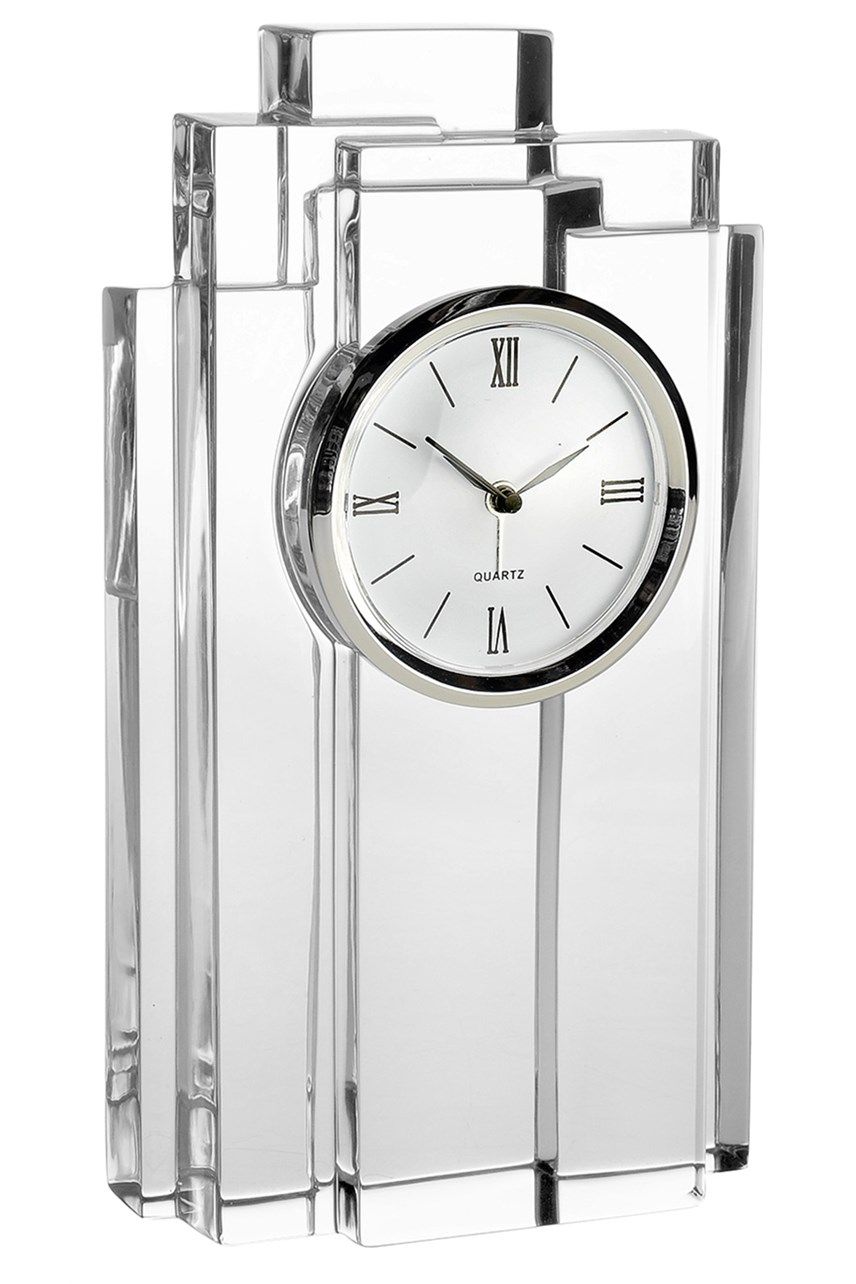 Crystal Time Clock