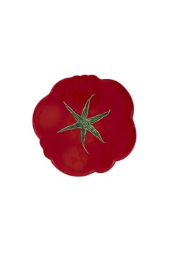 Tomato Pizza Plate RED 1