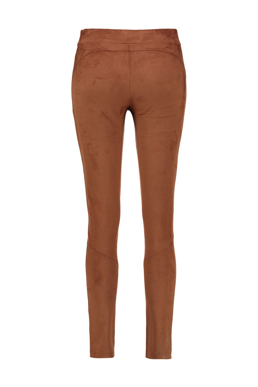 Suede Look Leggings