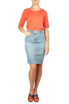 79706848d3 Denim Skirt With Applique - GERRY WEBER - Smith & Caughey's - Smith ...