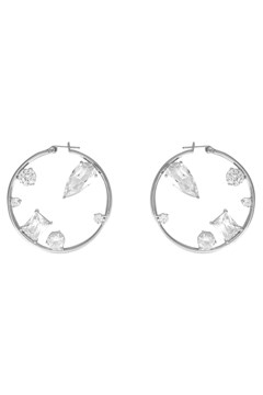 Skylar Silver XL Hoop Earrings SILVER 1