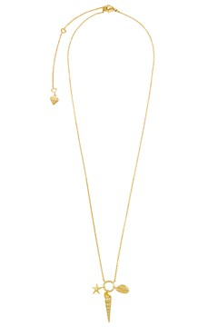 Como Shell Gold Necklace GOLD 1