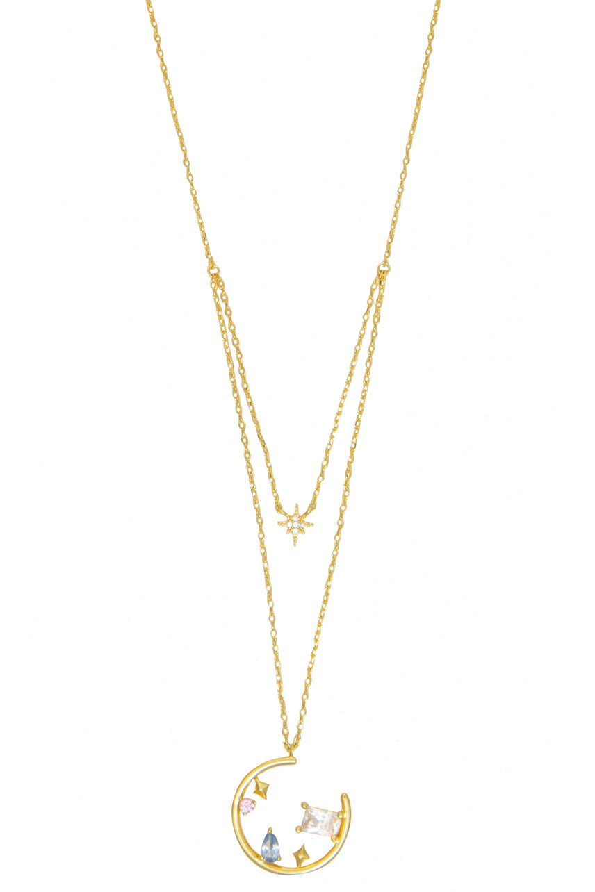 Skylar Gold Layered Necklace