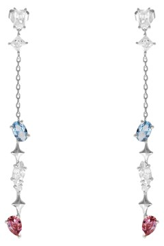 Kaia Stardust Silver Earrings - silver