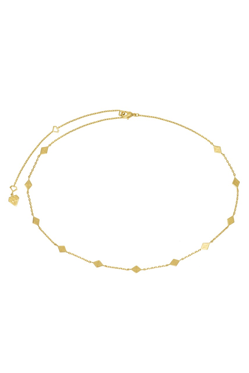 Zyia Gold Choker Necklace